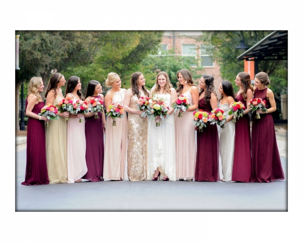 Ginger Lily Events, The Foundry at Puritan Mill, Chuppa, Rustic Elegant